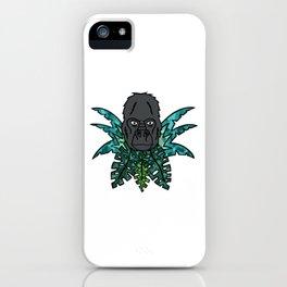 Gorilla in the Jungle[Multicolored] iPhone Case