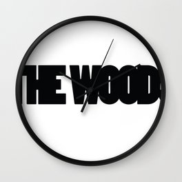 The Woods  Wall Clock