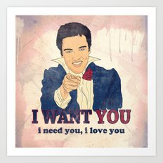 I Want You Art Print