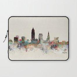 cleveland ohio skyline Laptop Sleeve