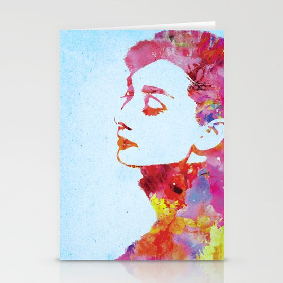 Audrey .2 Stationery Cards