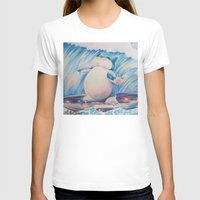 snorlax T-shirts featuring Snorlax Used Surf by LaurelAnneEquineArt