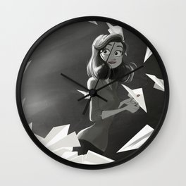 Paperman Wall Clock