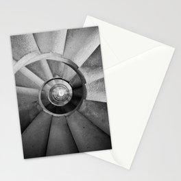 La Sagrada Familia Spiral Staircase Stationery Cards