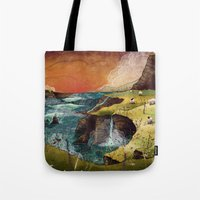 ireland Tote Bags featuring Ireland by Taylor Rose