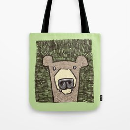 dack the bear Tote Bag