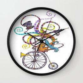 Topsy Turvy Toff Wall Clock