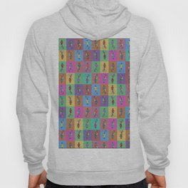 He's Got an Arm Off - Zombie Pin-Up Graphic Pattern Hoody