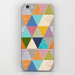 seaview beauty triangles iPhone Skin