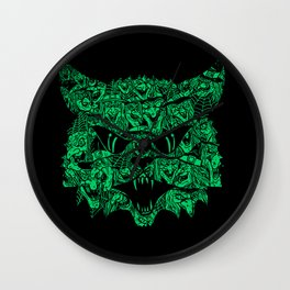 Kitty Witches Wall Clock