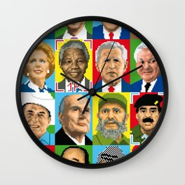select your politic Wall Clock