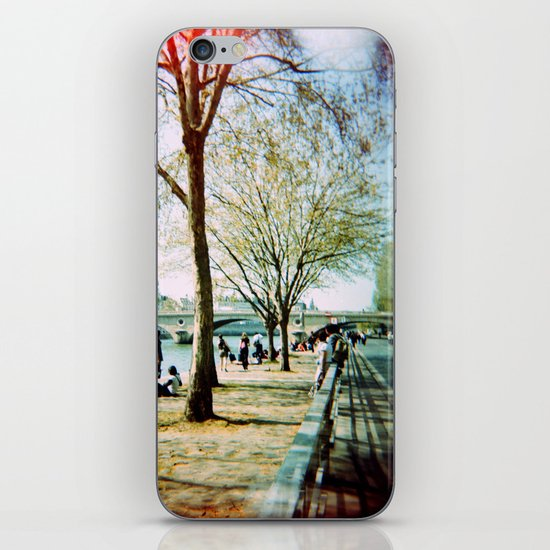 Paris in the Spring Time iPhone & iPod Skin