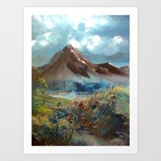 masal dağı Art Print