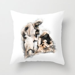 Saviour Throw Pillow
