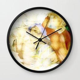 Newport Oregon - Imagination Wall Clock
