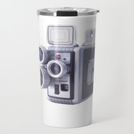 Vintage Camera 16mm Travel Mug