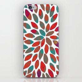 Watercolor brush strokes - multicolor iPhone Skin