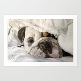 Not a Bully: Winston Art Print