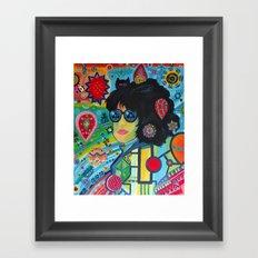 Control Yourself Framed Art Print