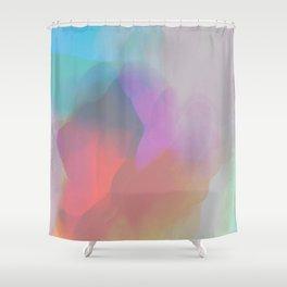 watercolor paint Shower Curtain
