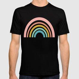 Simple Happy Rainbow Art T-shirt