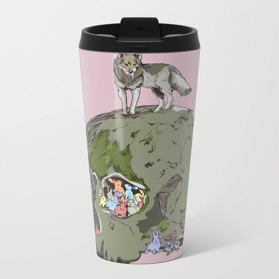 Hunt Metal Travel Mug