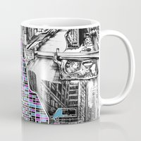chicago Mugs featuring chicago  by Bekim ART