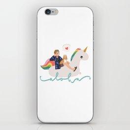 Bon Voyage Taehyung iPhone Skin