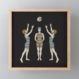 Swimmers Framed Mini Art Print