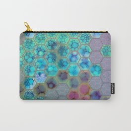 Onion cell hexagons Carry-All Pouch