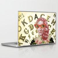 font Laptop & iPad Skins featuring FONT by Julia Lillard Art