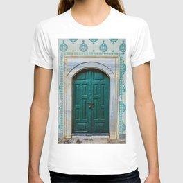 Teal Topkapi Palace Doorway T-shirt