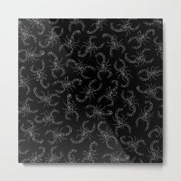 Scorpion Swarm II Metal Print