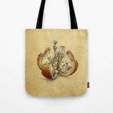 Steampunk Orange (sepia) Tote Bag