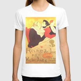 """Henri de Toulouse-Lautrec """"Reine de Joie"""" T-shirt"""