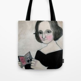 Mary Shelley and the Monster Tote Bag