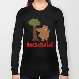 MADRID: Bear and Madrono (v.2) Long Sleeve T-shirt