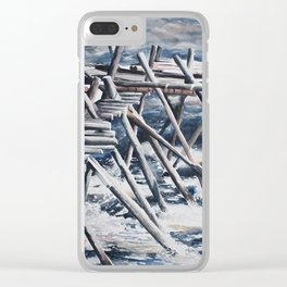 Kukkolaforsen Clear iPhone Case