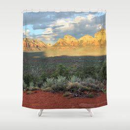 Sedona Red Rocks Vortex - Arizona Shower Curtain