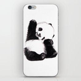 baby panda iPhone Skin