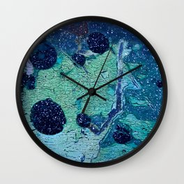 Space and Time Collision Wall Clock