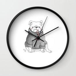 Dexter's Christmas Wall Clock