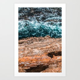 Underlying Currents Art Print