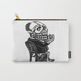 Capitalist Skull Carry-All Pouch
