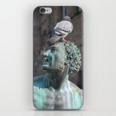Avian Art Appreciation in Florence, Italy iPhone & iPod Skin