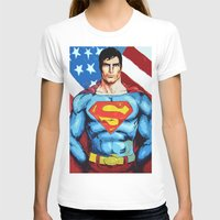 man of steel T-shirts featuring Man of Steel by Dave Franciosa