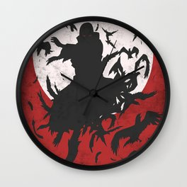 Akatsuki Clouds Wall Clock