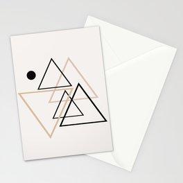 Triangle Line II Stationery Cards