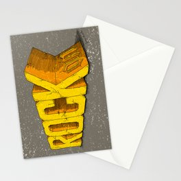 Rock On Stationery Cards