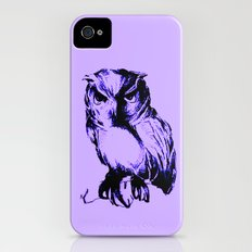 Owl Color iPhone (4, 4s) Slim Case